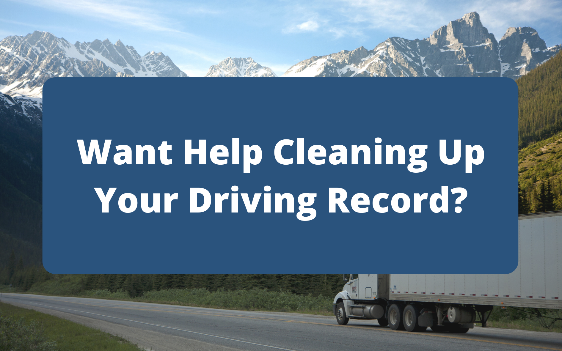 CDL Driving Record